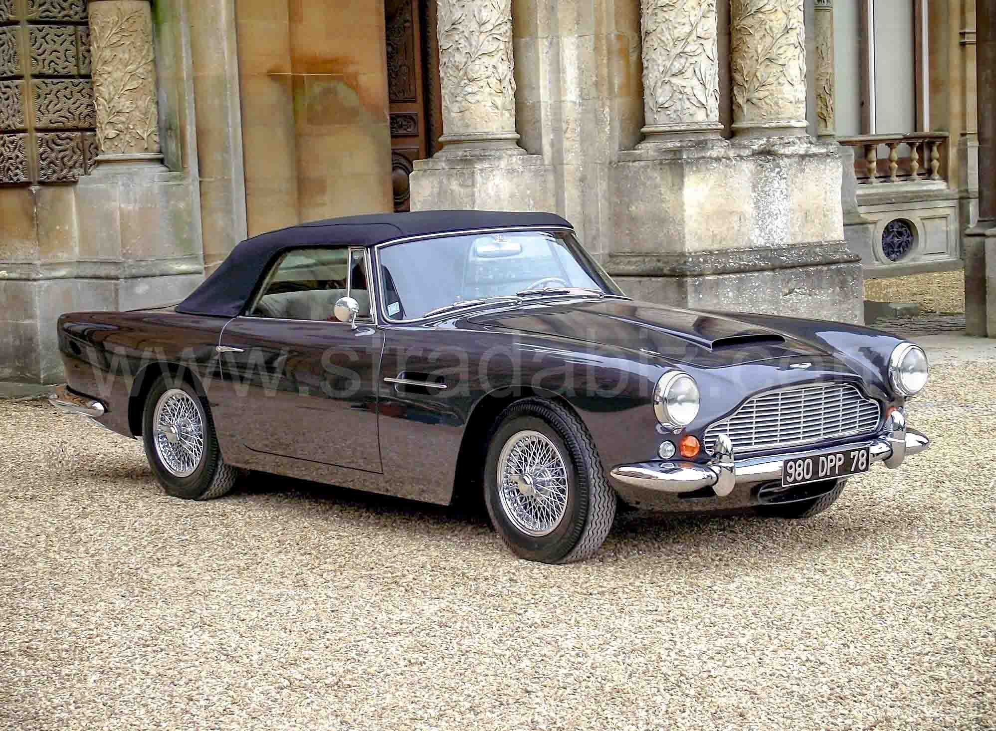 Aston Martin Db4 Convertible Stradabiz